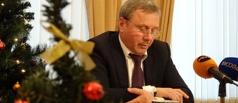 Александр Бобров подвел итоги уходящего года