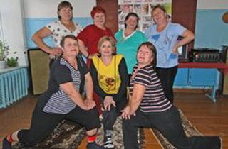В Тамбовской глубинке пенсионерки открыли фитнес-клуб