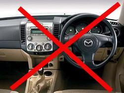Праворульные авто с 2012 года будут вне закона