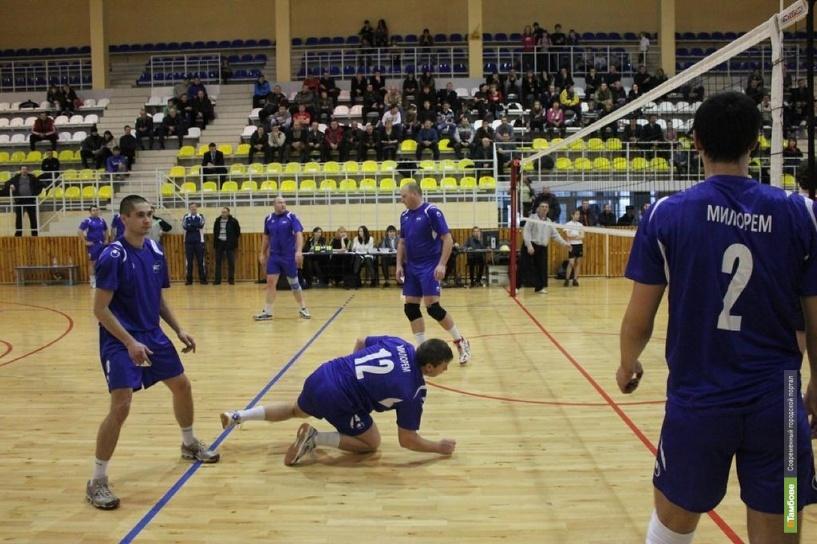 На Тамбовщине определили сильнейших волейболистов