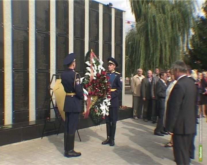 На Тамбовщине реконструировали новый мемориал павшим воинам