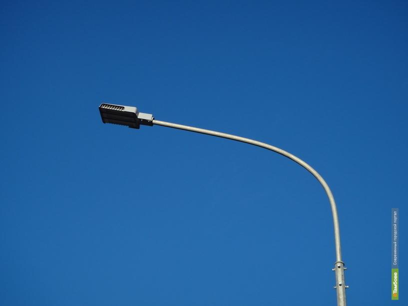 На улице Мичуринской вскоре зажгутся новые фонари