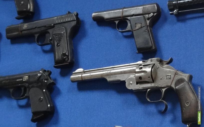 Житель Знаменки хранил в своём доме самодельное оружие