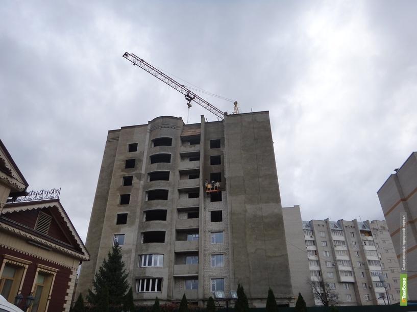 Половина всех инвестиций в Тамбовскую область пришлась на строительство