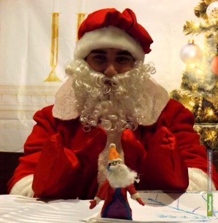 Избушка сюрпризов от Деда Мороза - в центре Тамбова