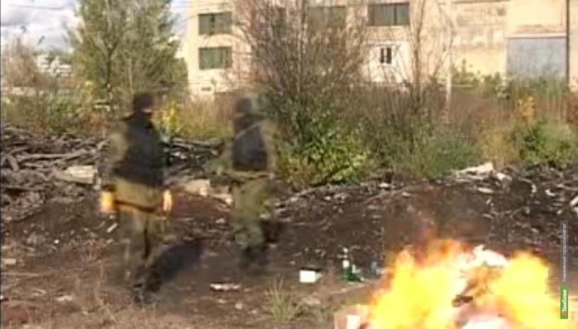 Полтора миллиона рублей сожгли тамбовские наркополицейские