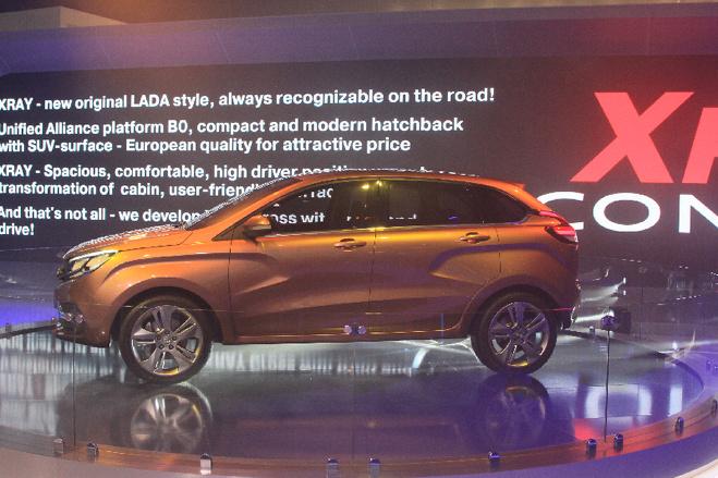 Андерссон раскрыл секрет: кроссовер LADA Xray будет стоить полмиллиона рублей