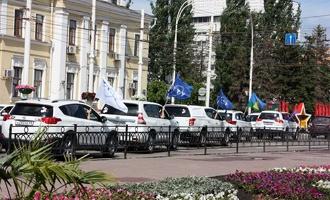 Стартовал автопробег студентов и сотрудников ТГТУ