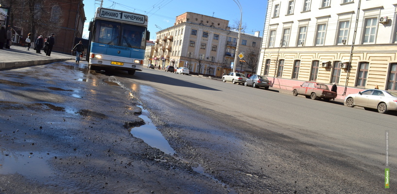 В Тамбовской области появится «Карта убитых дорог»