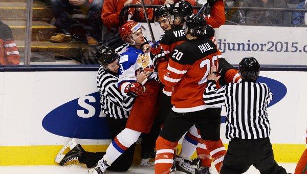 Серебряная молодежка: Россия уступила Канаде в финальном матче МЧМ по хоккею