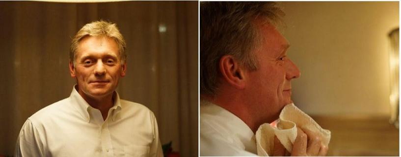 Пресс-секретарь президента Дмитрий Песков сбрил усы
