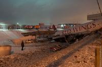 Причиной авиакатастрофы во Внуково мог стать отказ тормозов