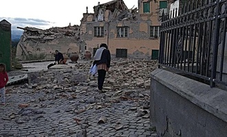 В центральной Италии произошло мощное землетрясение