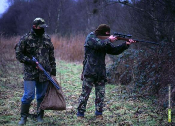 Тамбовские полицейские отобрали оружие у браконьеров