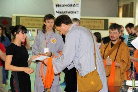 Тамбовские кунгфуисты стали лучшими на турнире в столице