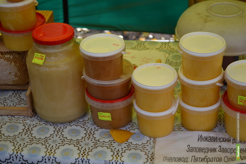 В Тамбове развернется ежегодная ярмарка меда