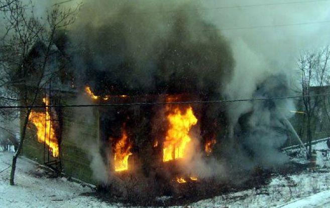 В Староюрьевском районе при пожаре погибла пенсионерка