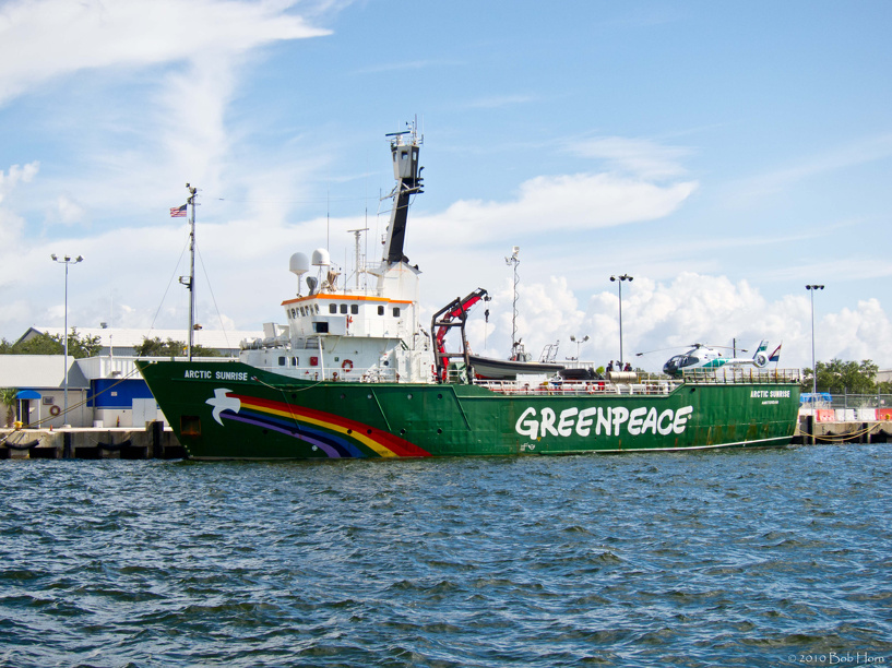 Greenpeace потеряла почти 4 млн евро из-за ошибки сотрудника