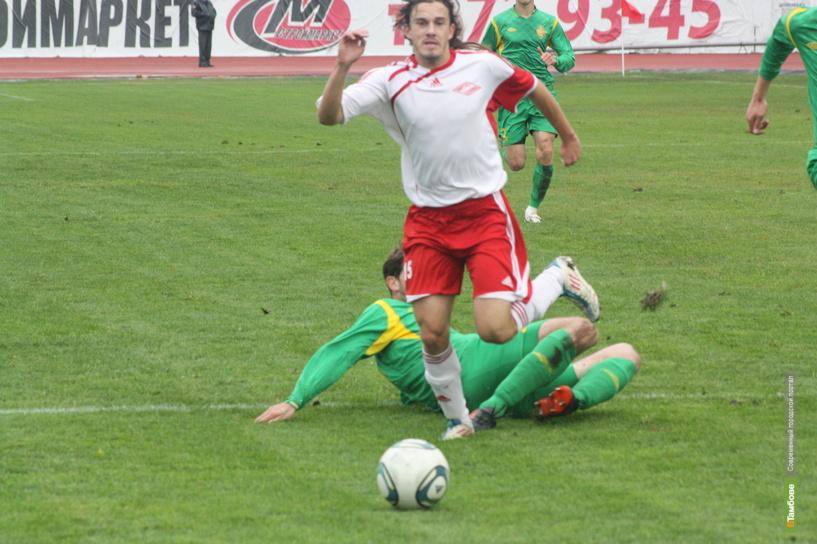 Тамбовский «Спартак» одержал первую победу в сезоне