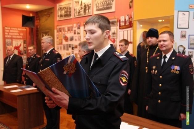 Мичуринские полицейские раздадут горожанам свои визитки