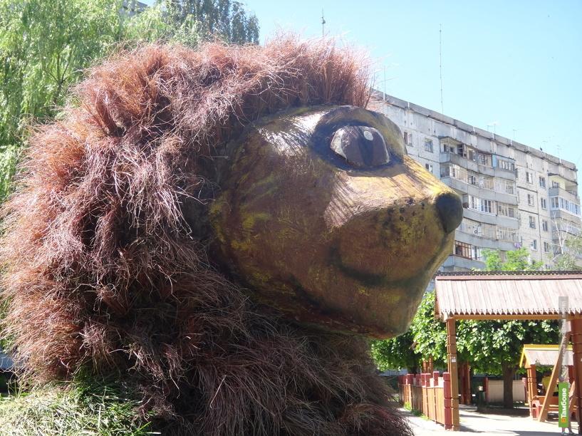 На Набережной Тамбова появился лев