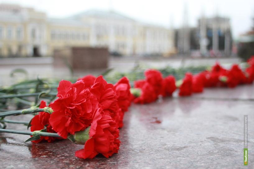 Тамбовчане возложили цветы к памятнику Зои Космодемьянской
