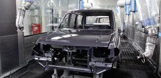 На УАЗ завершена модернизация роботизированной линии окраски кузова