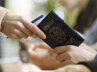 Украина введет визовый режим с Россией