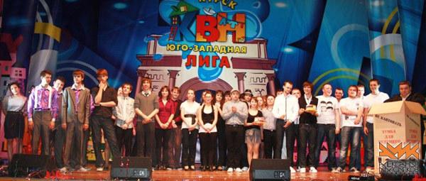 Тамбовская команда вышла в полуфинал Юго-Западной лиги КВН