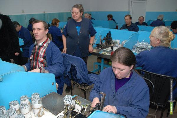 Инвалиды на Тамбовщине смогут работать на новых предприятиях