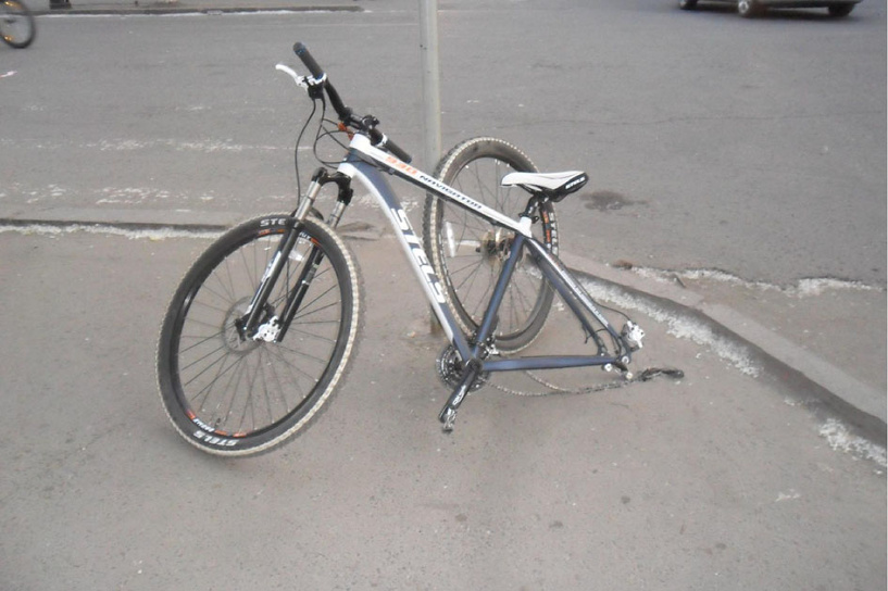 В Мичуринске 16-летняя велосипедистка попала под колеса авто