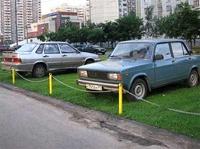 Депутаты хотят запретить парковаться на газонах