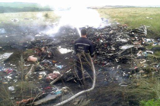 Малайзийский «Боинг», рухнувший на Украине, был сбит. Кем — пока не ясно