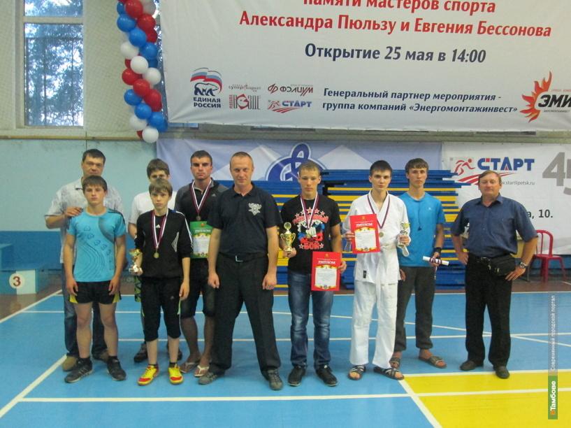 Тамбовчане привезли 6 медалей с Всероссийского турнира по рукопашному бою