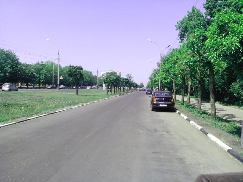 Народная новость: дублёра улицы Мичуринской ремонтируют капитально