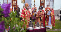 Для нового храма освятили колокола