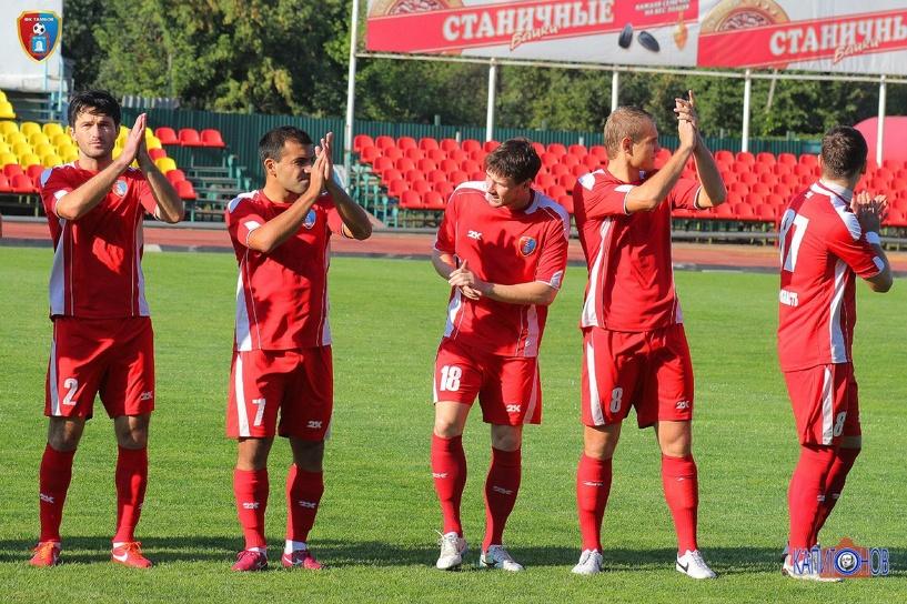 Сегодня ФК «Тамбов» сыграет с «Металлургом» из Выксы