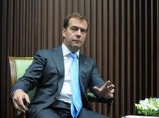 Медведев решил поддержать пострадавших в Чернобыле