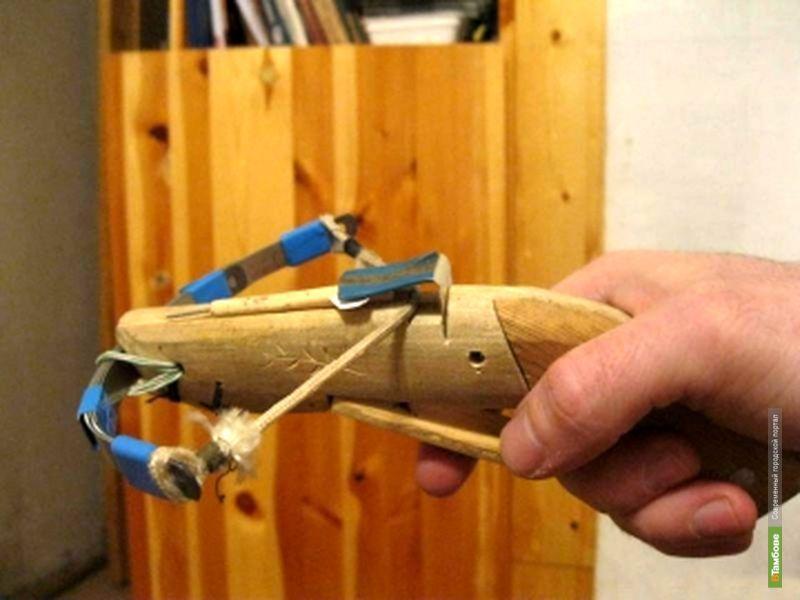 Как сделать деревянного арбалета