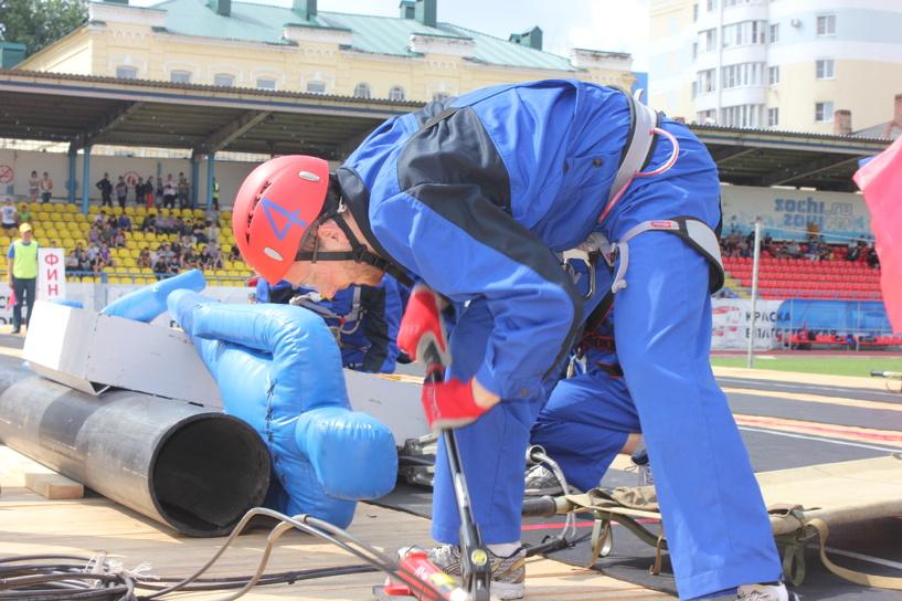 В Тамбове завершились соревнования по спасательному спорту среди регионов ЦФО