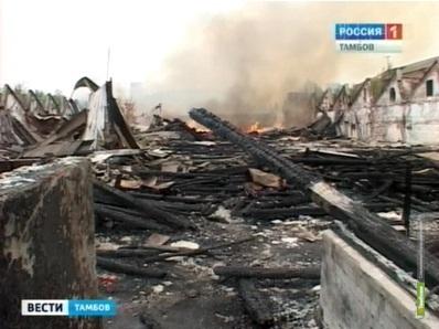 """Причиной пожара на Арженской """"суконке"""" мог быть поджог"""