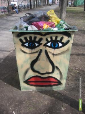 Тамбовчане «разграффитят» мусорки