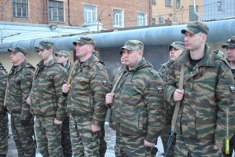 Отряд тамбовского ОМОНа отправился на Северный Кавказ