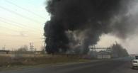 В Тамбовском районе произошёл пожар