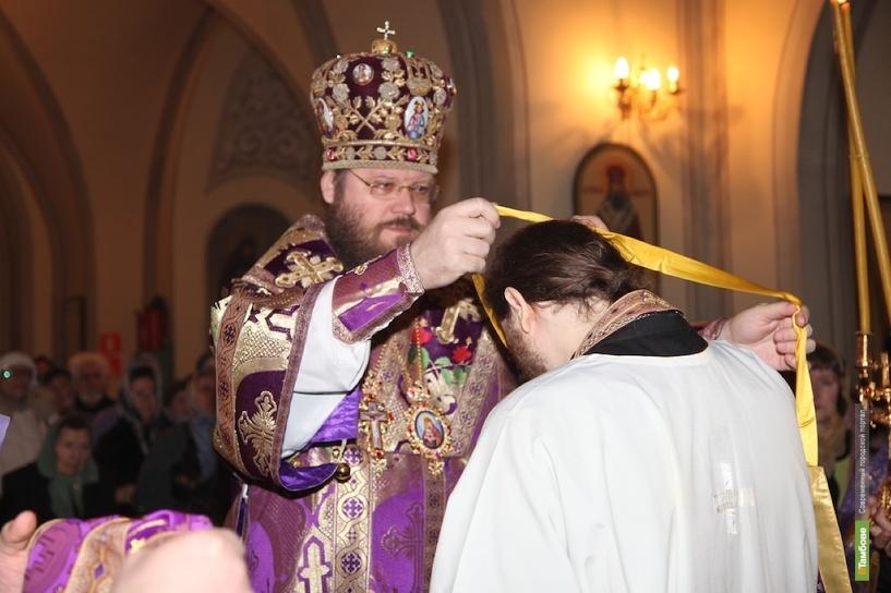 Тамбовским священнослужителям вручили церковные знаки отличия