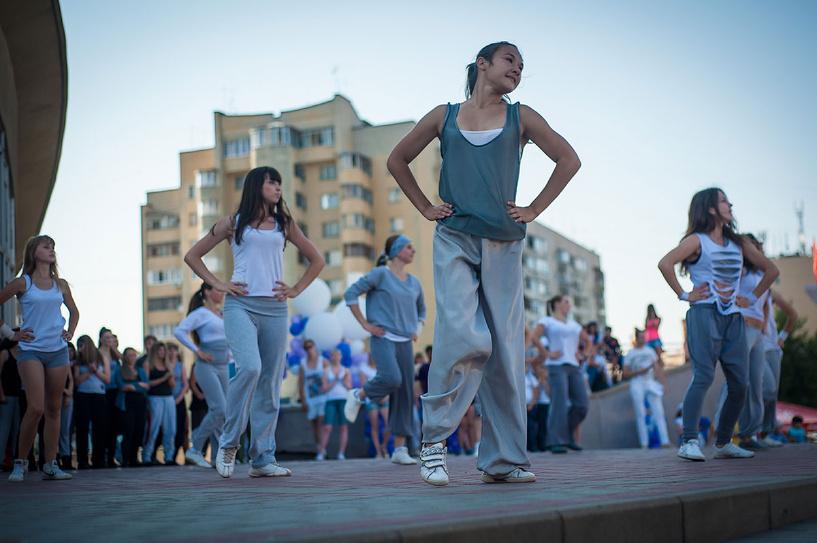 Тамбовские подростки устроят танцевальный флешмоб