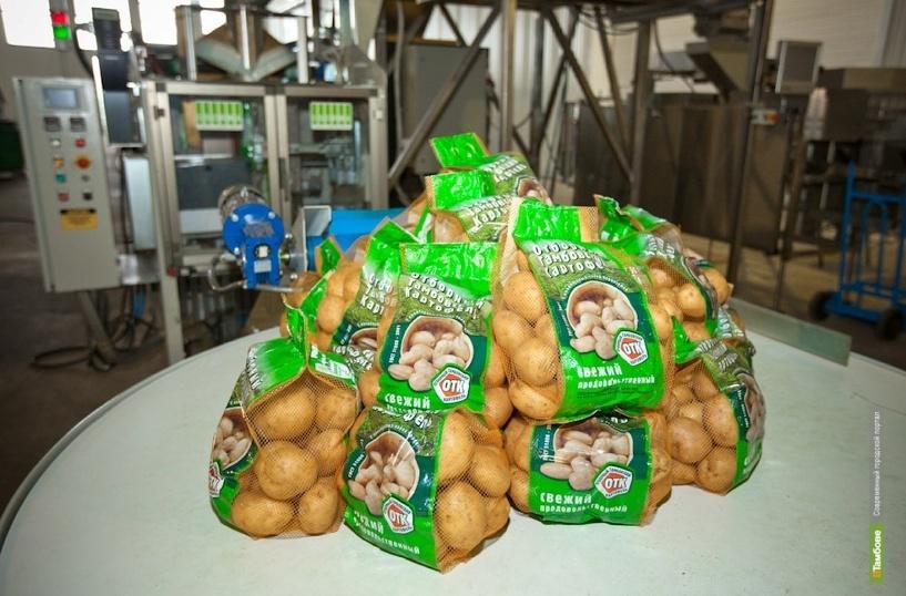 """""""Тамбовская картошка"""" станет торговым брендом"""
