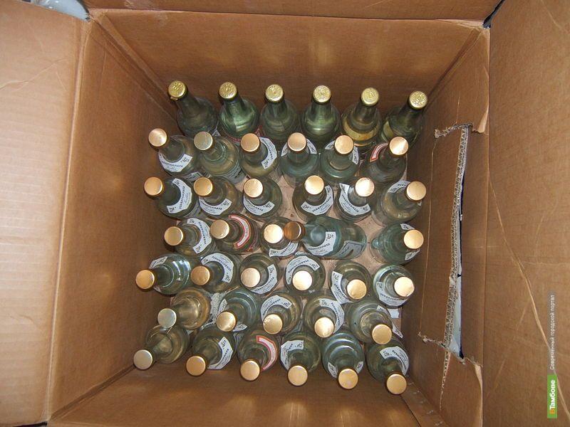 Под Тамбовом задержана рекордная партия «паленого» алкоголя