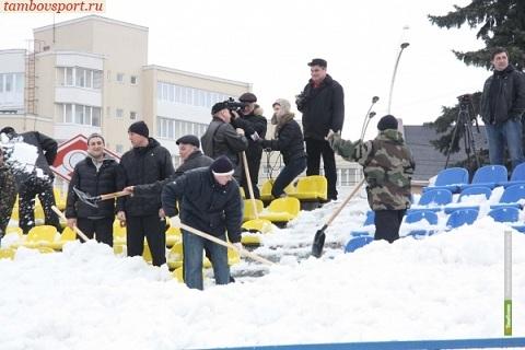 Тамбовский «Спартак» все-таки сыграет на своем поле