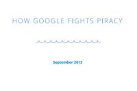 Google рассказал, как бороться с интернет-пиратством